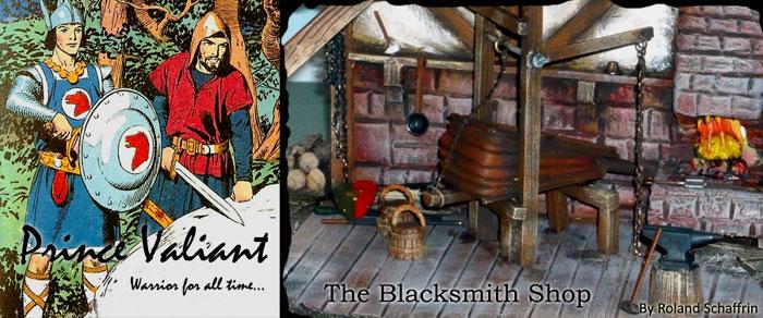This Blacksmith Shop, was created by Roland Schaffrin,